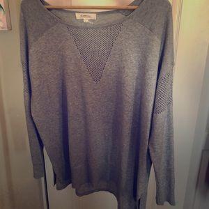 Grey ladies sweater